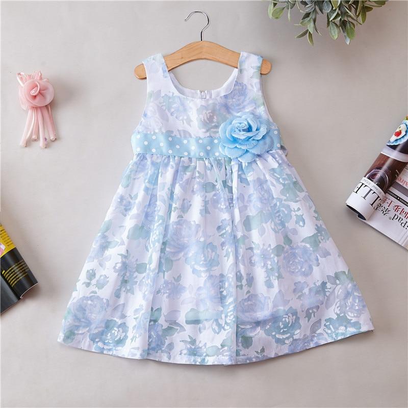 Dresses for girls novatx brand children clothing appliques Spring Summer girl clothes sleeveless princess party dress for kids