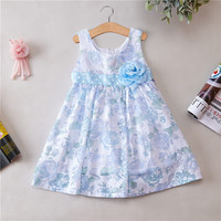 Dresses For Girls Novatx Brand Children Clothing Appliques Spring Summer Girl Clothes Sleeveless Princess Party Dress