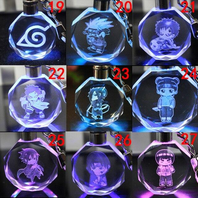 аниме Брелок кристалл наруто вариант 2 в ассортименте