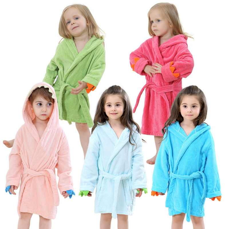 7c8cf6240 Detail Feedback Questions about Hooded Towel Child Bathrobe Kids ...