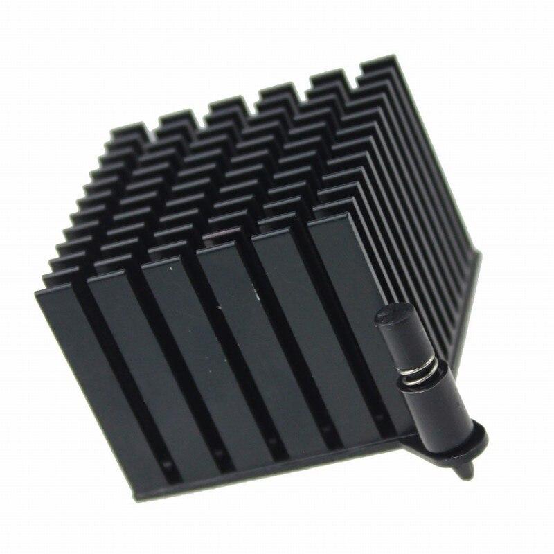 40 x 40 x 11 millimetri di alluminio del dissipatore di calore del dissipatore di calore di raffreddamento per chip IC LED transistor ILS 4 PEZZI