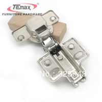 35mm Cup Concealed Hinge INSERT Satin Nickel Kitchen Cabinet Furniture Hardware Door Without Damper