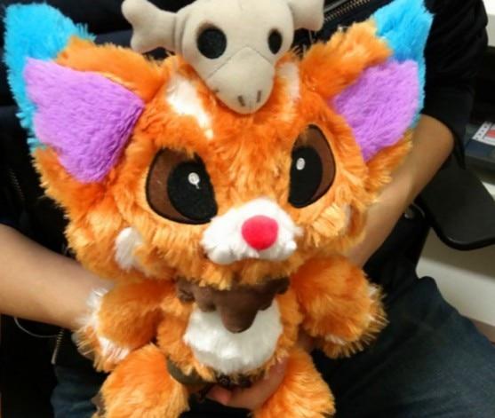31cm League Game Of Lol Gnar Plush Soft Stuffed Plush Toy