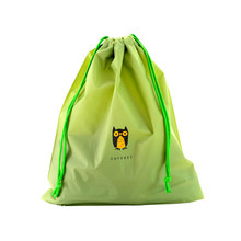 New Waterproof Laundry Shoe Exquisite Travel Pouch Portable Tote Drawstring Storage Bag H01(China)
