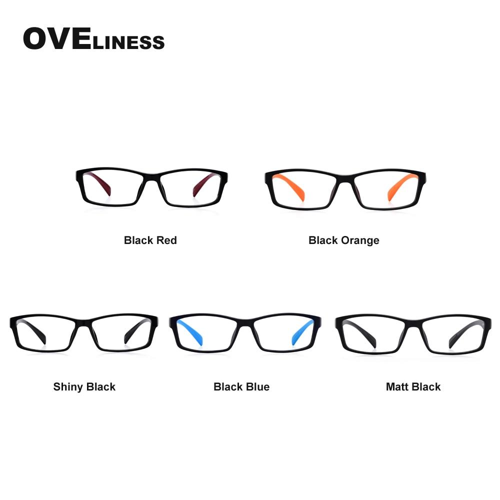 TR90 Eynək çərçivələri Qadın kişilər Optik Clear Lens Oxuyan - Geyim aksesuarları - Fotoqrafiya 6