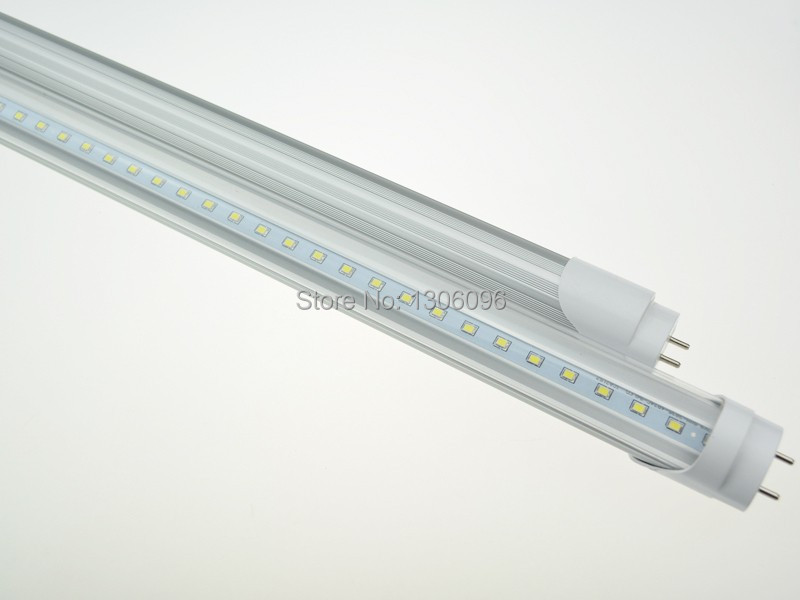 10PCS/Lot DHL 18W <font><b>T8</b></font> LED <font><b>Tube</b></font> Light 1200mm 100LM/W AC85-265V 2ft Lamp SMD2835 LED 2800-6500K with <font><b>bracket</b></font> mounted in Living Room image
