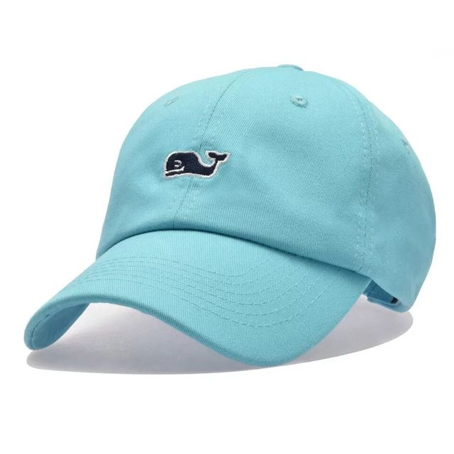 Whale Embroidery Cotton Baseball Cap 5