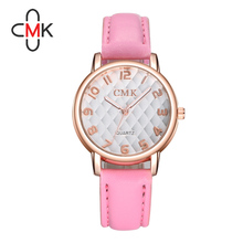 DHL UPS transport top quality waterproof leather-based Geneva Quartz Analog sweet colours Sports activities ladies males watches 08