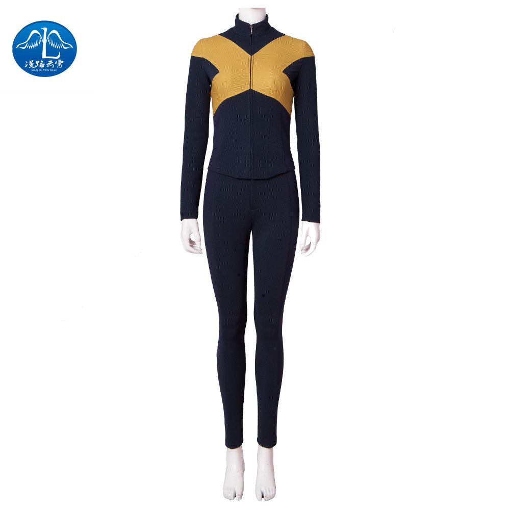 MANLUYUNXIAO X-Men:Dark Phoenix  cosplay Costumes Accessories  Superhero Halloween Adult Women Coat pants wolverine