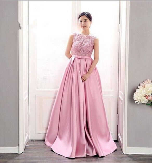 New Design Lace Appliques Robe De Soiree Formal Evening Gown 2018 Sleeveless Vestido De Festa Longo Mother Of The Bride Dresses