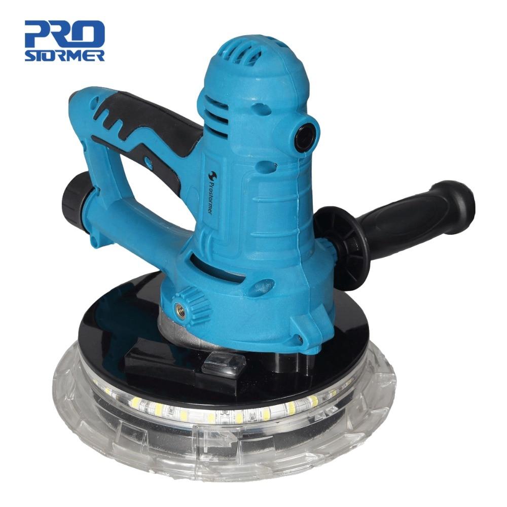 Prostormer 800 настенная полировальная машина наждачная бумага машина случайный трек ручной многоцелевой шлифовальный станок 360 градусов светод...