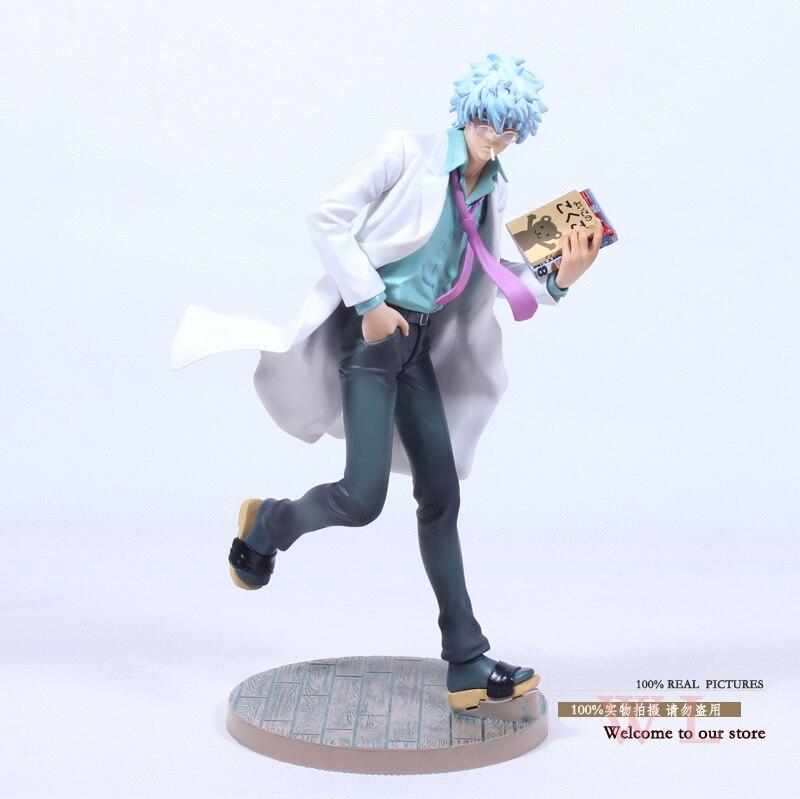 ФОТО Free Shipping MegaHouse Silver Soul Gin Tama Gintama Sakata Gintoki PVC Action Figure Colletion Model Toy 22cm SSFG015