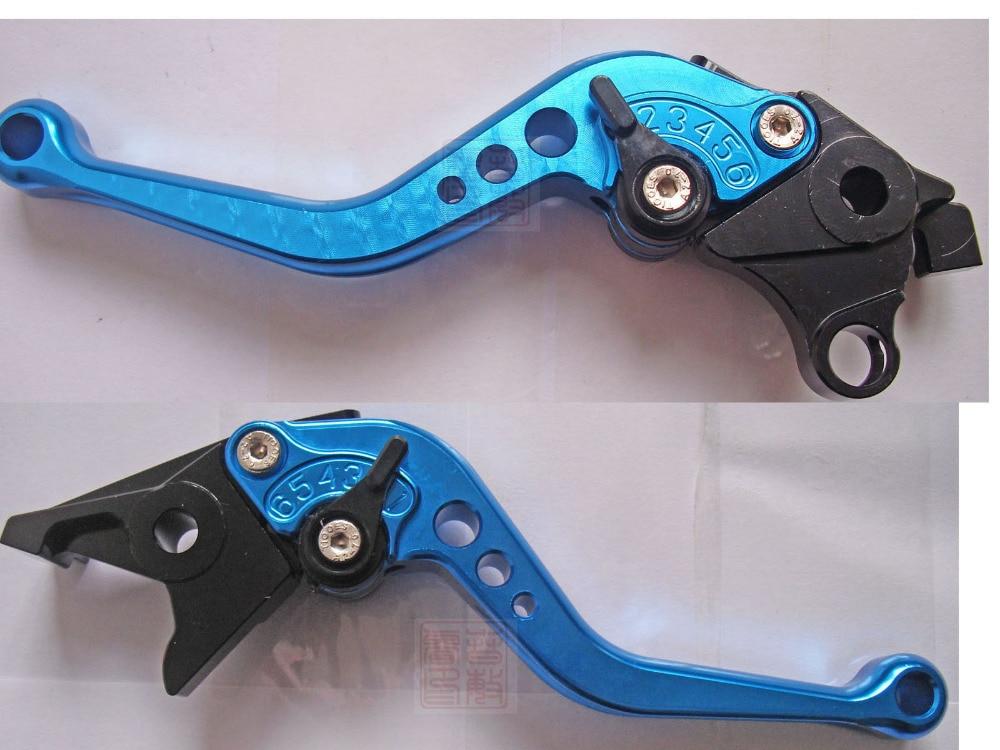 Новые высококачественные рычаги тормоза и сцепления для мотоциклов и велосипедов с ЧПУ для Suzuki bandit 650 GSF650 2007 07