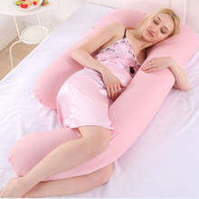 Breastfeeding Pregnant Women U Shape Full Body Maternity Sleeping Pillow 2019 New Bedding Cushion Pregnancy Side Sleeper Pillow недорого