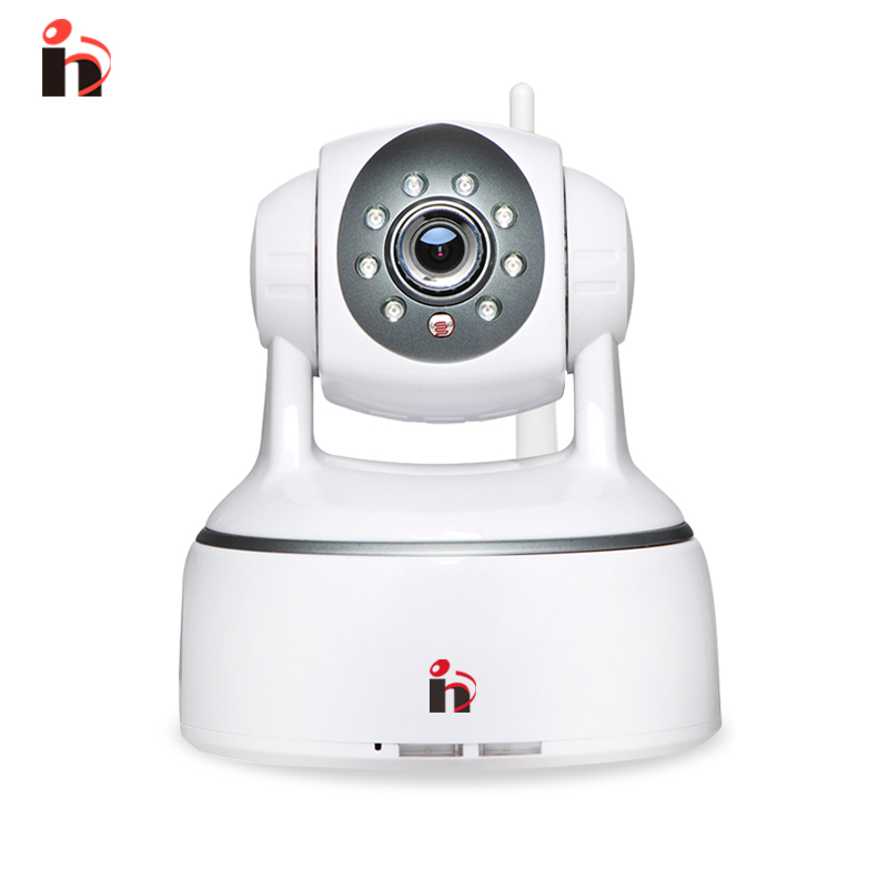 H free shipping H.264 1.0MP HD 720P IP Camera P2P Pan IR Cut ONVIF WiFi Wireless IP Security Night Vision Motion Detection cam wifi ipc 720p 1280 720p household camera onvif with allbrand camera free shipping