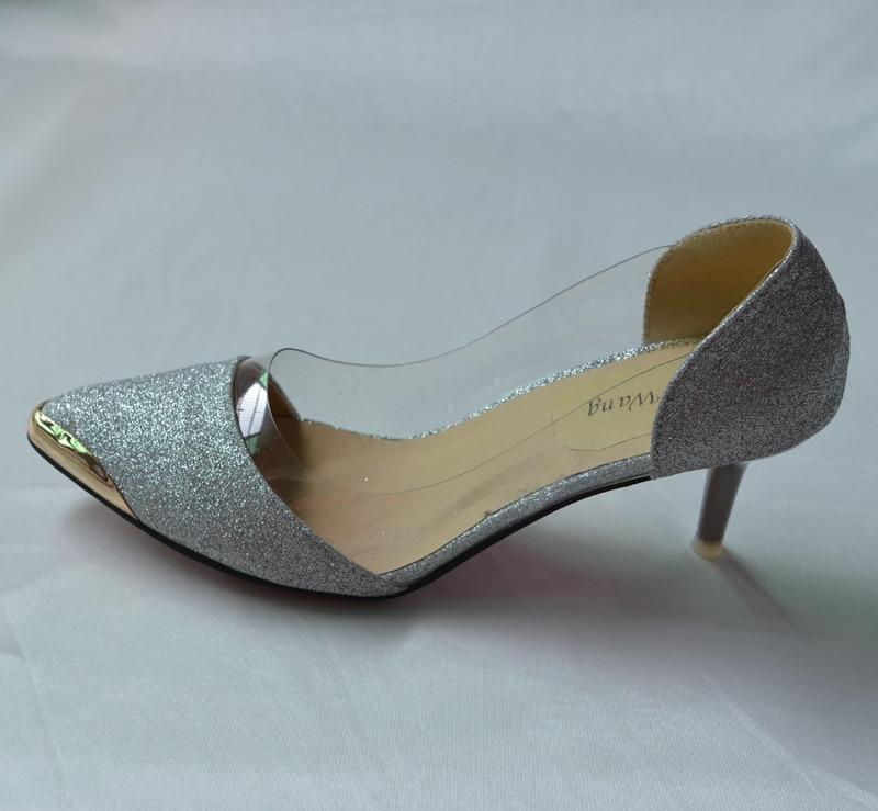 Модные женские туфли-лодочки с острым носком женские гриль принцесса Обувь на высоком каблуке Женская обувь в стиле пэчворк вечерние сваде...
