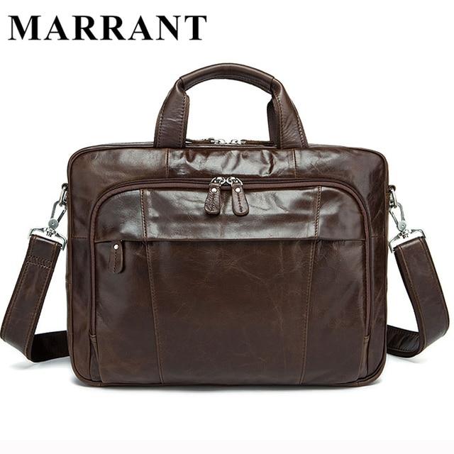 b2bdaace5713 MARRANT сумка мужская сумка через плечо мужская мужская сумка натуральная  кожа мужская кожаная сумка Мужчины портфель