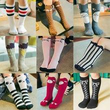 Baby Girls sock knee high Fox Cotton Cute Little Character Knee Socks Kid Clothing unisex Toddler