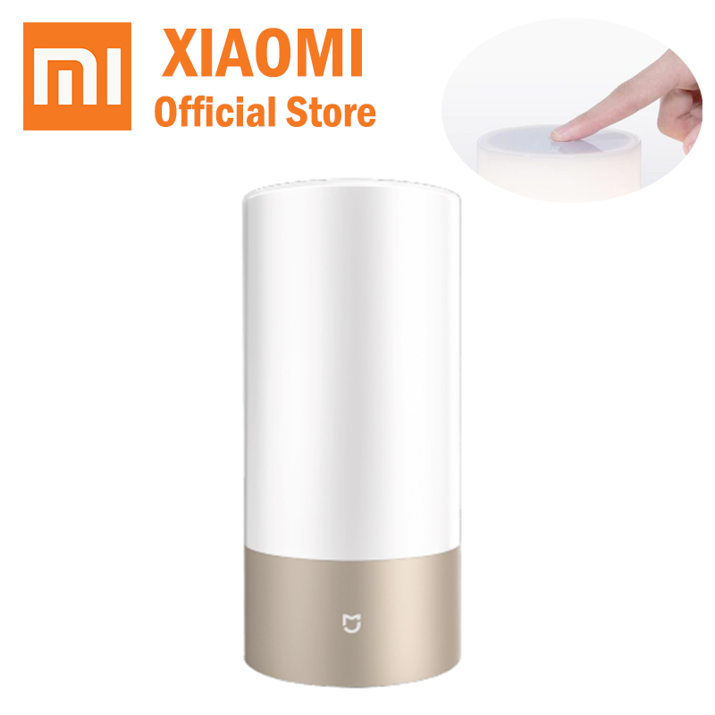 New xiaomi led bedside lamp mijia bed lamp bedlight romantic helping sleep bluetooth wifi connection desk