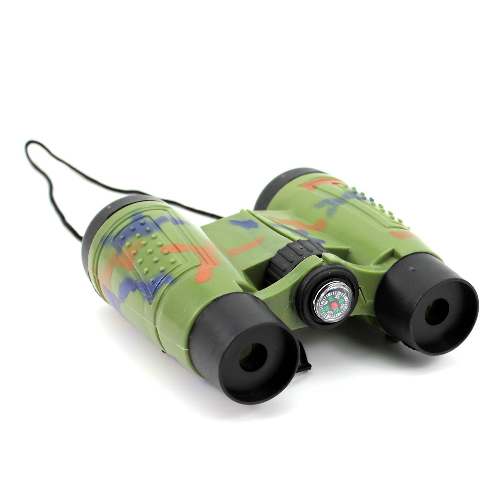 2016 Science Toys Telescope Camouflage Kid Toy Binocular Telescope Beach Camp Children Toys Magnification 4X