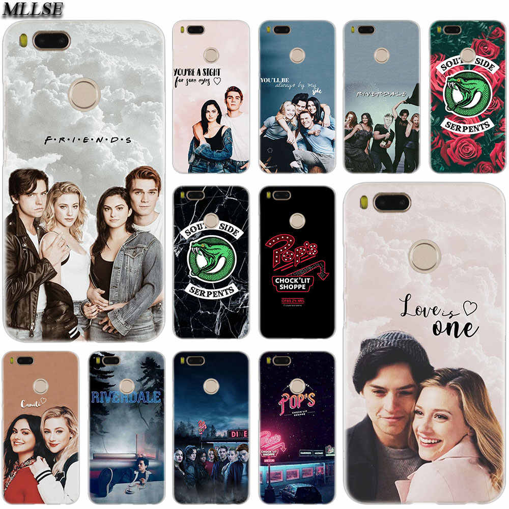 MLLSE Riverdale South Side Serpents Case Cover for Xiaomi Mi Play Pocophone F1 8 A1 A2 Lite 6 6Plus Mix3 2S Redmi Note 4x 5 6 S2