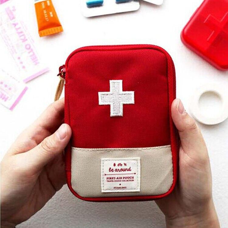 2018 путешествия портативный небольшой аптечка наркотиков очка комплект Горячие продукты hypervenom, органайзер, выживания, сумки, дорожная сумка...