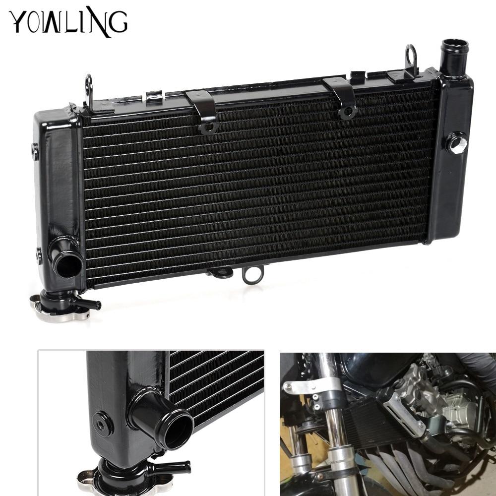 Aluminum Radiator Cooler Cooling System For Honda CB600 CB 600 F CB 600 CB600 HORNET CBF600 2008 2009 2010 2011 2012 2013 motorcycle parts replacement grille guard cooling cooler radiator for honda cb600 hornet cbf600 2008 2009 2010 2011 2012 2013 13
