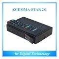 5pcs/lot  Zgemma-Star 2S Smart FTA Satellite Receiver Linux OS Enigma2 With DVB-S2+S2 Twin Tuners IPTV Set Top Box