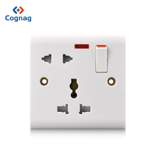 Cognag Multi-function universal 5 pin 13a multi plug switched socket