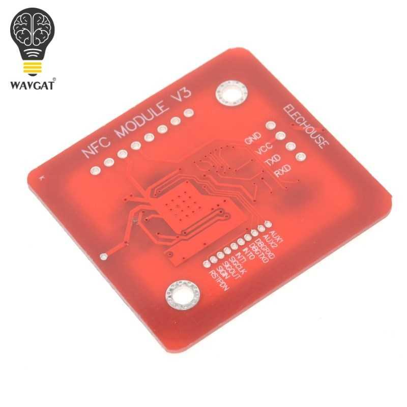 Améliorer les Kits d'utilisateur du Module sans fil V3 de NFC RFID de PN532 Mode d'écriture de lecteur carte IC S50 carte PCB Attenna I2C IIC SPI HSU pour Arduino