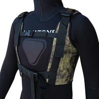 Layatone Diving Weight Vest 3mm Neoprene Wetsuit Tank Top Adjustable Buckle Diving Belt Spearfishing Load Vest for Men J1603AC