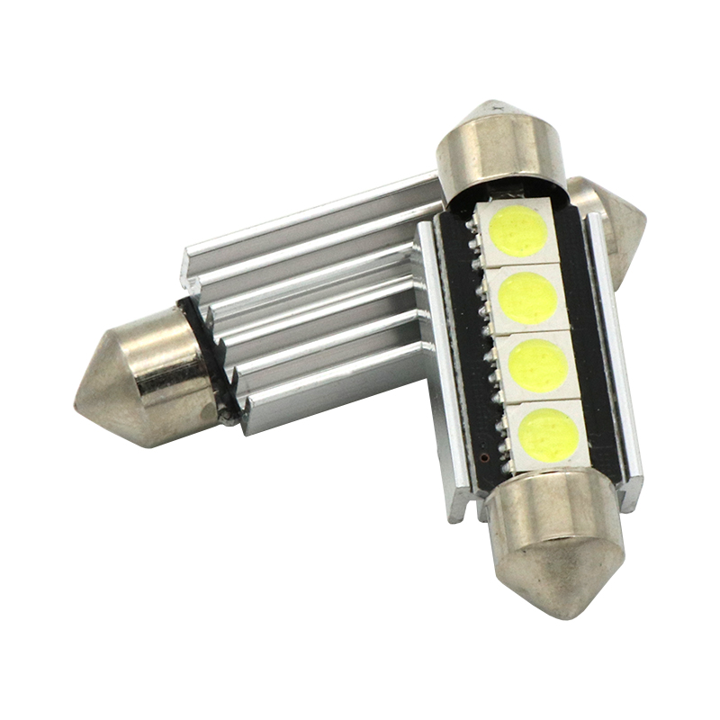 High Quality 31mm 36mm 39mm 42mm C5W C10W Super Bright 5050 SMD Car LED Festoon Light Canbus Error Free Interior Doom Lamp Bulb цена