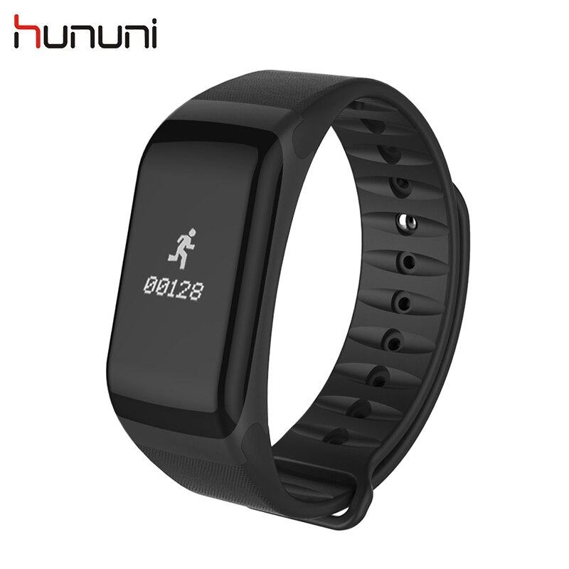 Hununi F1Smart Bracelet Wristband 0 66 inch Blood font b Pressure b font Monitor Bracelet Waterproof