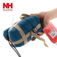 Naturehike Mini ultraligero multifuncion Portable saco de dormir del sobre Travel Bag Camping caza equipo 700 g 5 colores