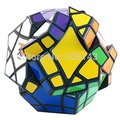 MF8 Bermuda Megaminx Mars, Venus ,Earth Magic Cube Black Hot Selling Brain Teaser Twisty Puzzle Toy for Children and Adult