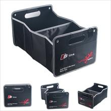 S-line Автомобилей Стайлинг Багажника Складной Большой Емкости Ящик Для Хранения Транспортного Средства Для Audi A3 A4 A5 A6 A7 A8 Q3 Q5 Q7 B8 B6