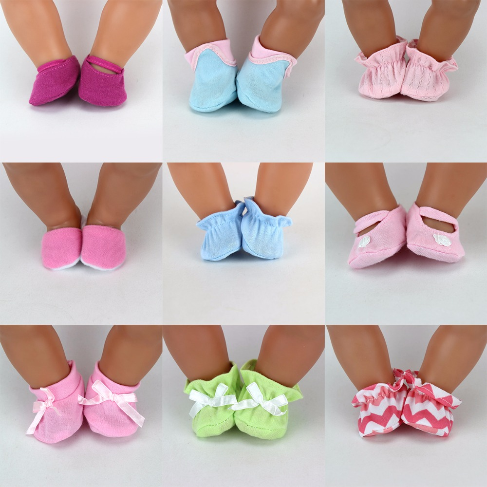 New Arrival Soft Shoes Fit For 43cm Baby Born Zapf