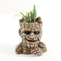 Flower Resin Garden Planters Creative Cartoon Statue & Animal Desktop Bonsai Pots Succulent Plant Pot Flower Pot