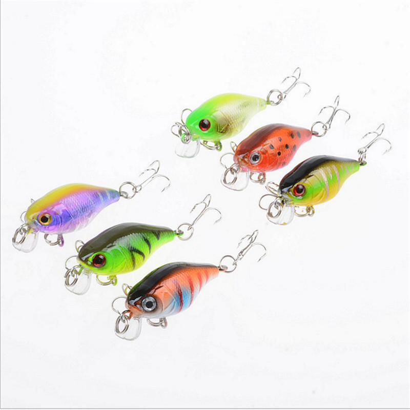 1PCS Fishing Lure 43mm 4.4g Isca Artificial Hard Bait Japan Topwater Mini Fishing Crankbait Bass Peche Carp Fishing Wobblers amlucas minnow fishing lure 110mm 9 5g crankbait wobblers artificial hard baits pesca carp fishing tackle peche we266