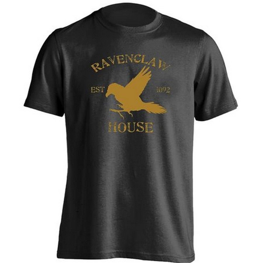 Design your own t shirt app - New Themed Brand Ravenclaw House Symbol T Shirt Guy Tshirt Editor App Girl Personalized Tee Shirt