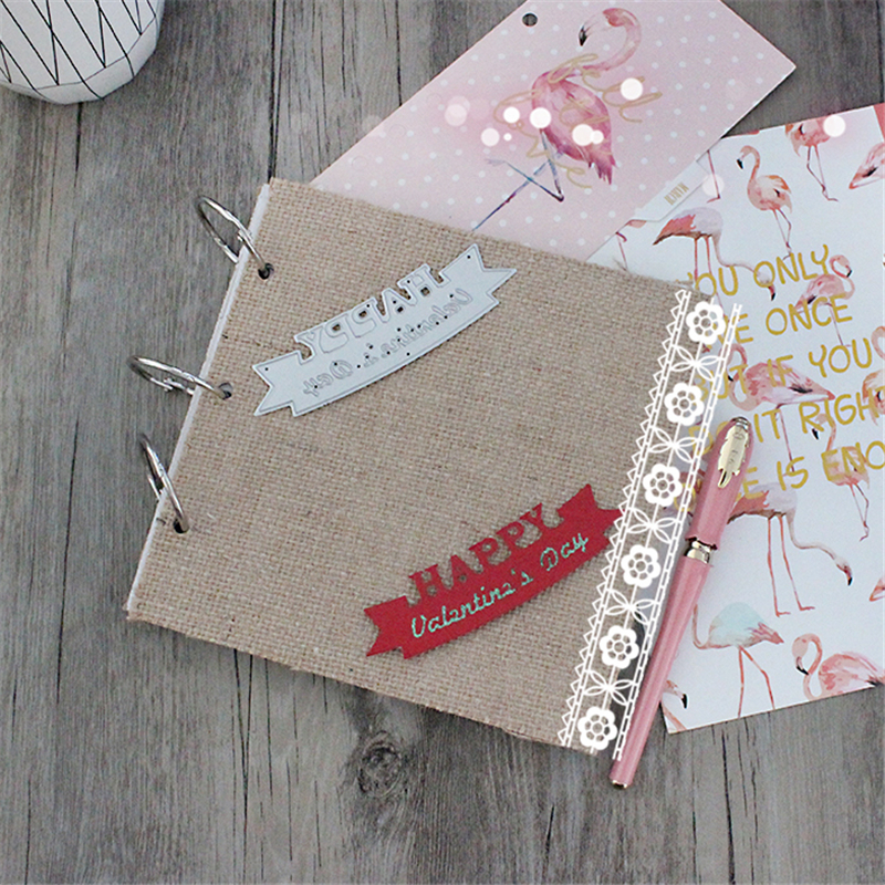 Happy Metal Die Cutting Scrapbooking Embossing Dies Cut Stencils Decorative Cards DIY album Card Paper Card Maker baby metal die cutting scrapbooking embossing dies cut stencils decorative cards diy album card paper card maker