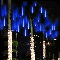 New 50cm SMD 3528 LED Meteor Snowfall Rain Tube shower Christmas Light Tubes cascading string lights 10 tubes outdoor Decoration