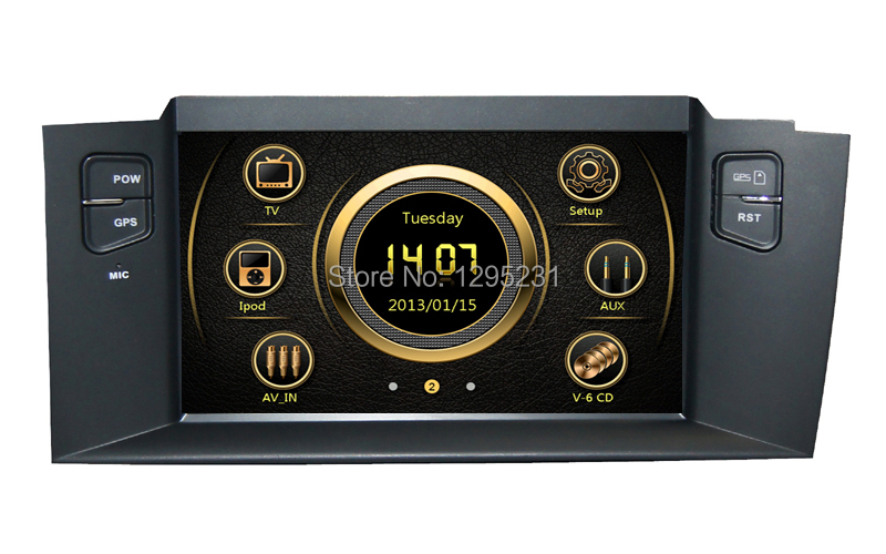Citroen C4L Car DVD Built-in GPS, Bluetooth,/Analog TV,IPOD,V-CDC,DUAL ZONE,Support 3G,free map - Good partners Store store