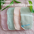 5 Pcs Washable sanitary pads overnight cloth pads panty liners reusable menstrual pads sanitary breathable soft cotton
