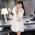 Women Faux Fur Coat Jacket Winter Fur Coat Female 2015 Autumn & Winter  Three Quarter Sleeves Fur Coat High Quality!