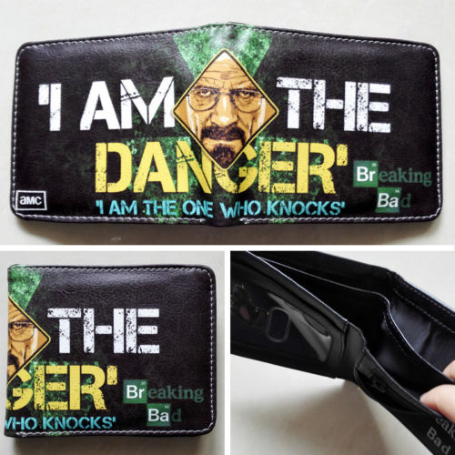 2018 AMC The Breaking Bad LOGO 01 wallets Purse Multi-Color Leather Man New W102 2018 games pacman games logo wallets purse multi color leather new hot w199