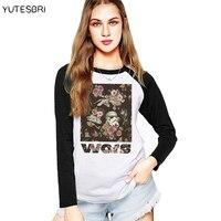 Star Wars Long Sleeves T Shirts Darthwork Yoda Darth Vader Women Fashion Cotton T Shirt Autumn