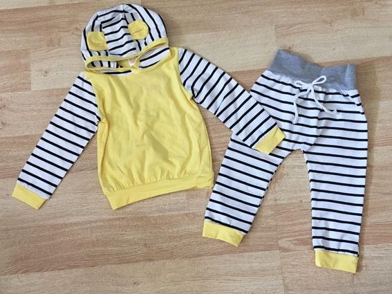 JENYA INS gorąca sprzedaż niemowlęca odzież dla niemowląt zestaw - Odzież dla niemowląt - Zdjęcie 2