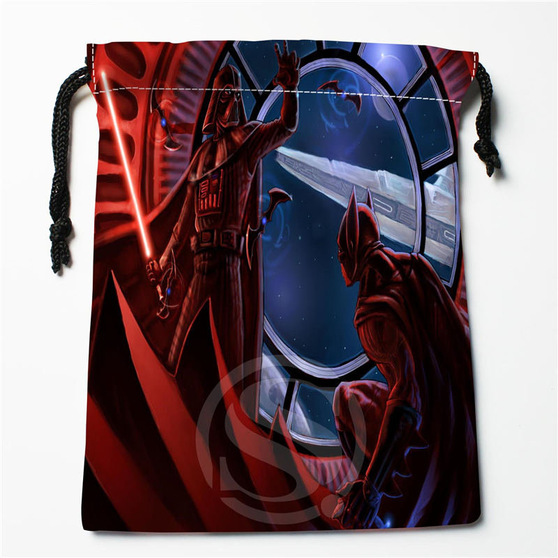 W-73 New Batman Marvel Comics Custom Logo Printed  Receive Bag  Bag Compression Type Drawstring Bags Size 18X22cm W801S73