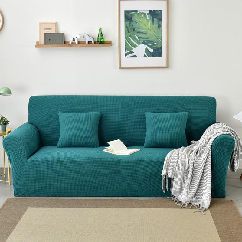 Polar Fleece Non Slip All Inclusive Corner Sofa Covers